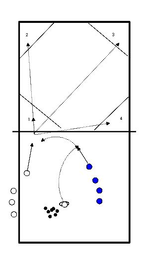 volleyball Attacking on position
