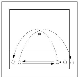 langs-het-net-spelen-lopen-om-pion-1