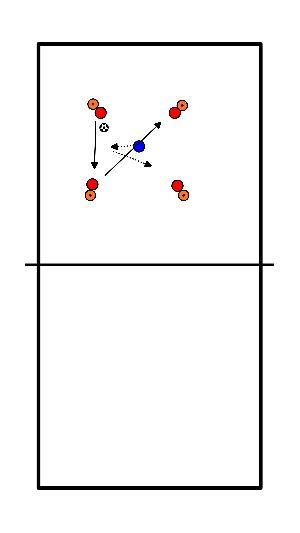 voetbal Lummelen in vierkant