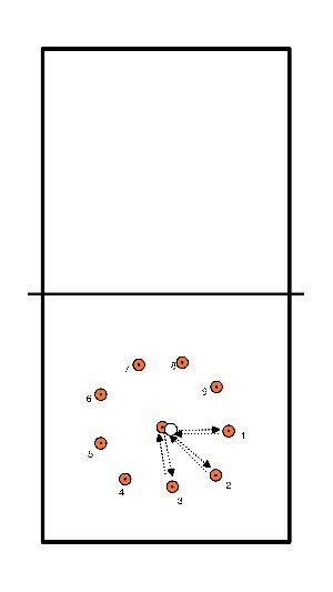 volleybal Conditie en wendbaarheid