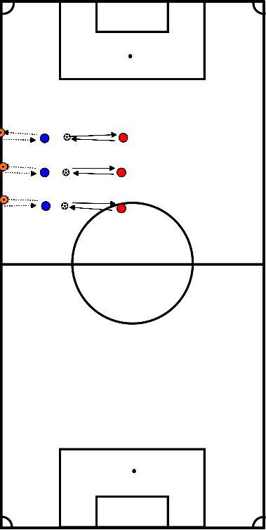 voetbal 45 seconden passing