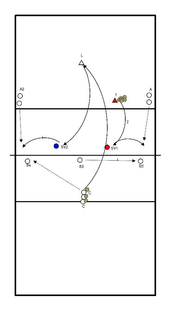 volleybal Spelverdeler ifv blok.