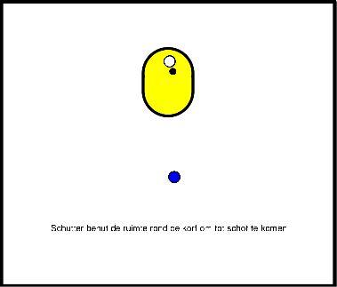 korfbal Opwarming met bal - schot