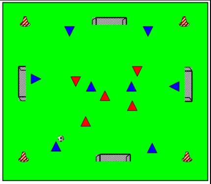 positiespel-met-goaltjes-met-verschillende-kleuren-hoedjes-1